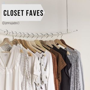 "The "" Closet Faves "" Edit"